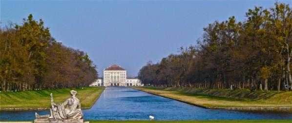 Schloss Nymphenburg mit Schloßpark