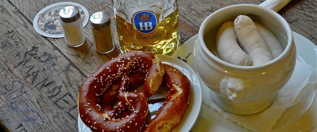 Weißwurstfrühstück im Hofbräuhaus am Platzl