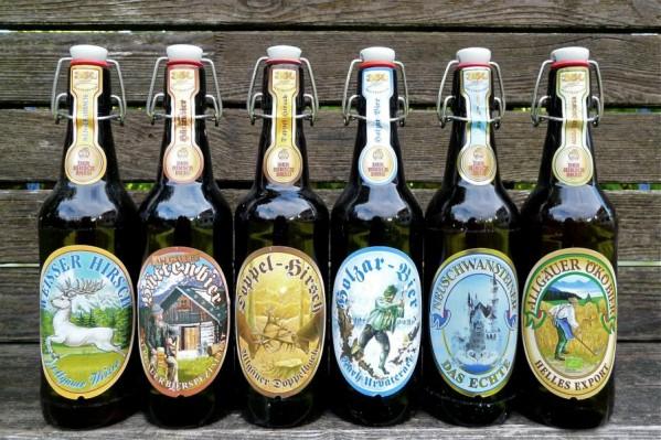 Brauereien im Allgäu