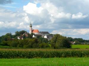 Kloster Andechs auf dem heiligen Berg