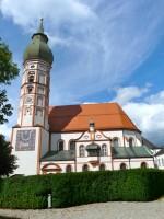 Kirche vom Kloster Andechs