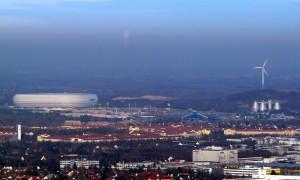München Panorama Allianz-Arena