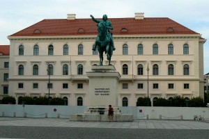 Reiterstandbild Maximiliam Kurfürst von Bayern