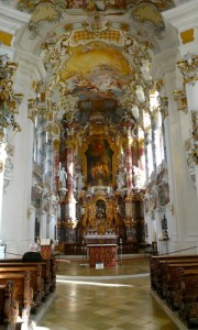 Altarraum der Wieskirche