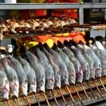 Steckerlfisch bei Fischer Vroni auf der Wiesn