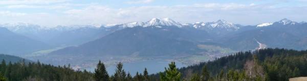 Bayerische Alpen am Tegernsee