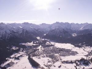 Oberstdorf aus der Luft
