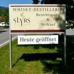 SLYRS Werbetafel