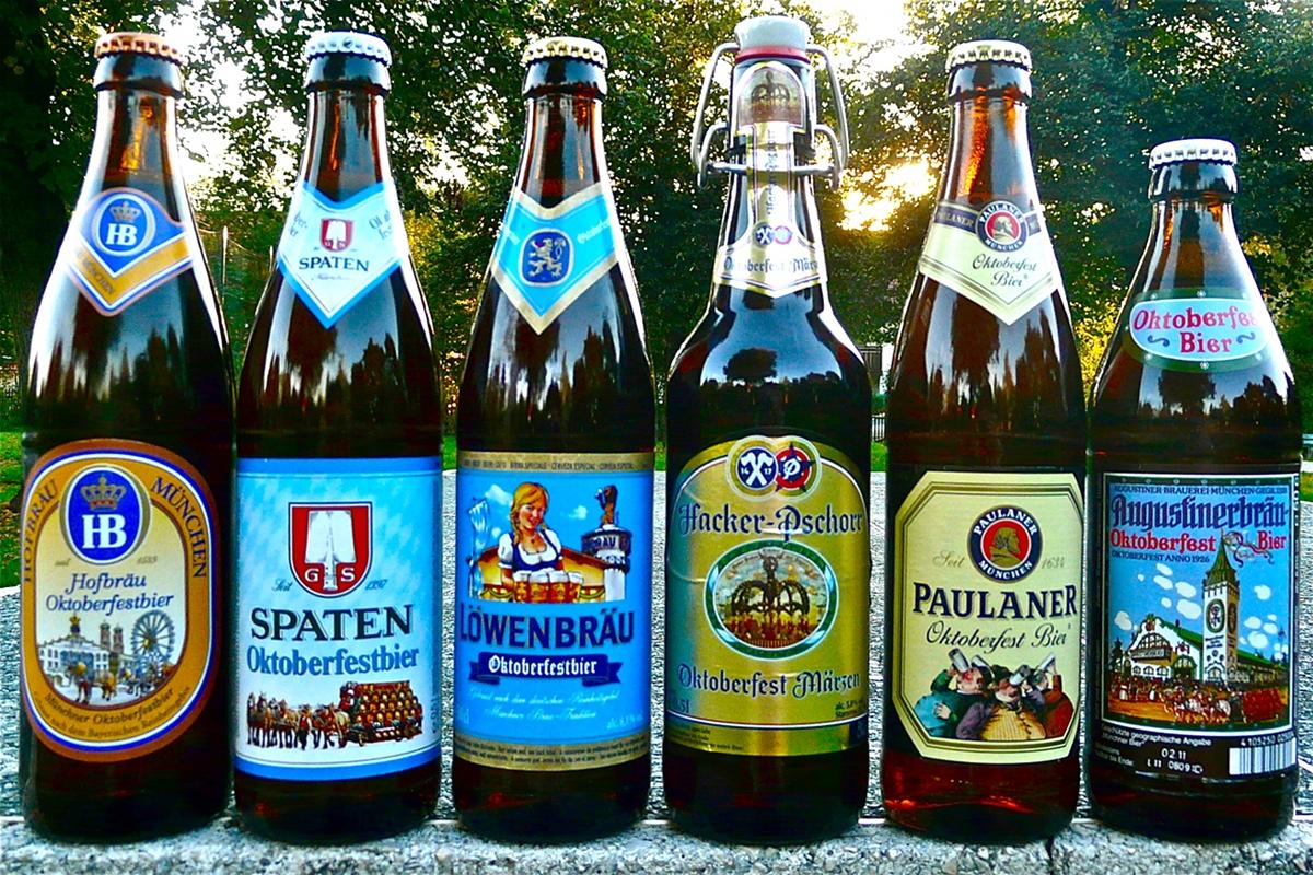 So trinkt man Münchner Oktoberfestbier