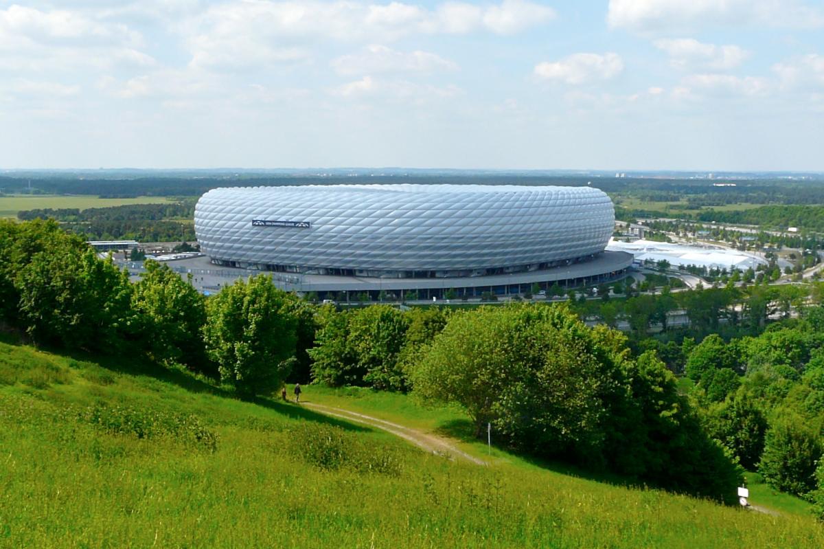 Allianz Arena des FC Bayern München
