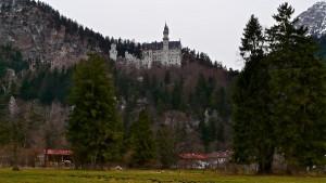 Schloß Neuschwanstein im Allgäu