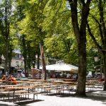 Menterschwaige Biergarten