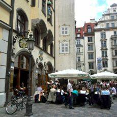 Am Platzl in der Münchner Altstadt