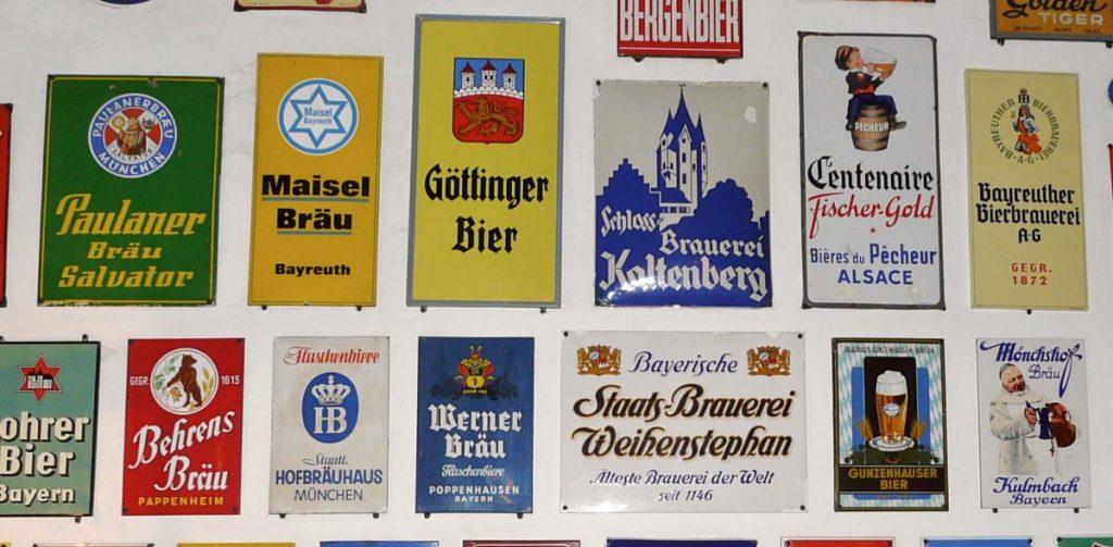 Bayerische Bier-Marken